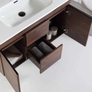 ארון אמבטיה דגם עמית עץ