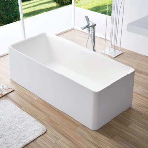 אמבטיה מעוצבת אמצע חדר