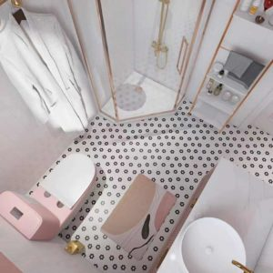 ארון אמבטיה אנה מלמעלה
