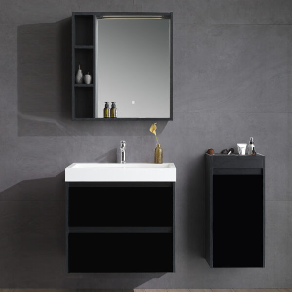 ארון אמבטיה דגם מעיין שחור