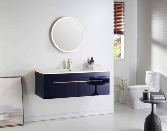 """ארון אמבטיה תלוי דגם אינדיגו 100 ס""""מ"""