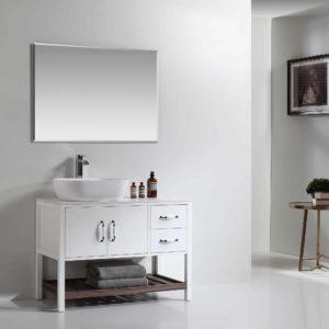 ארון אמבטיה עומד דגם ונילה