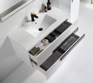 ארון אמבטיה מגירות