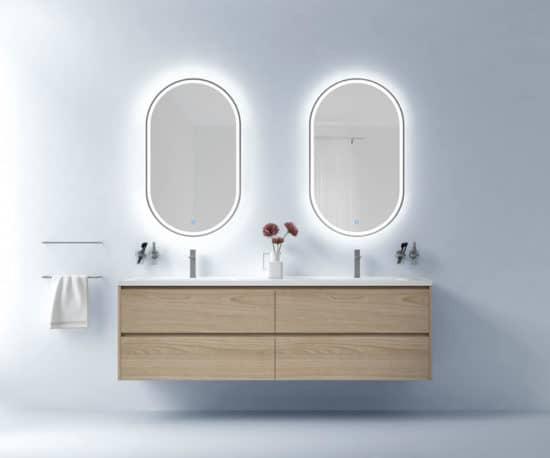 ארון אמבטיה תלוי מאירוני