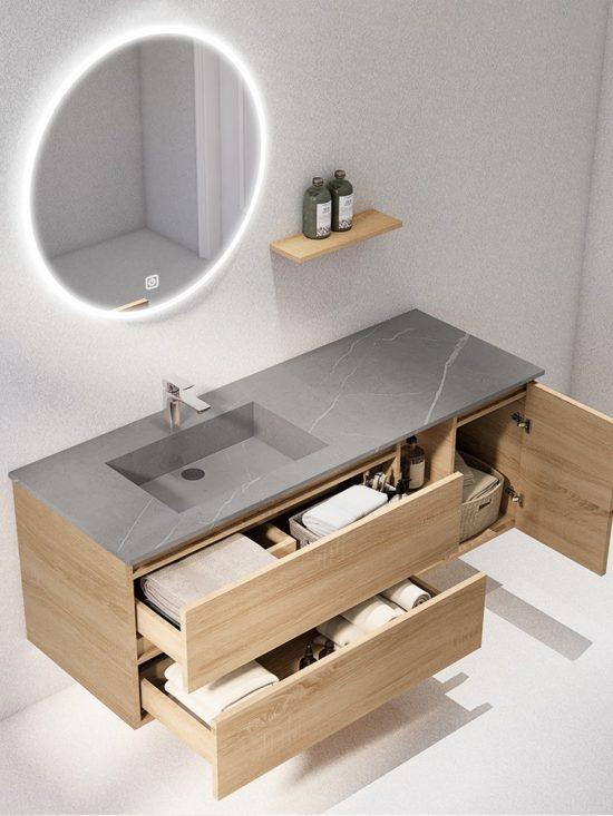 ארון אמבטיה דגם מייקל פתיחה