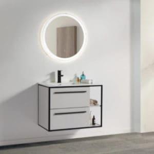 ארון אמבטיה דגם רביד חזית